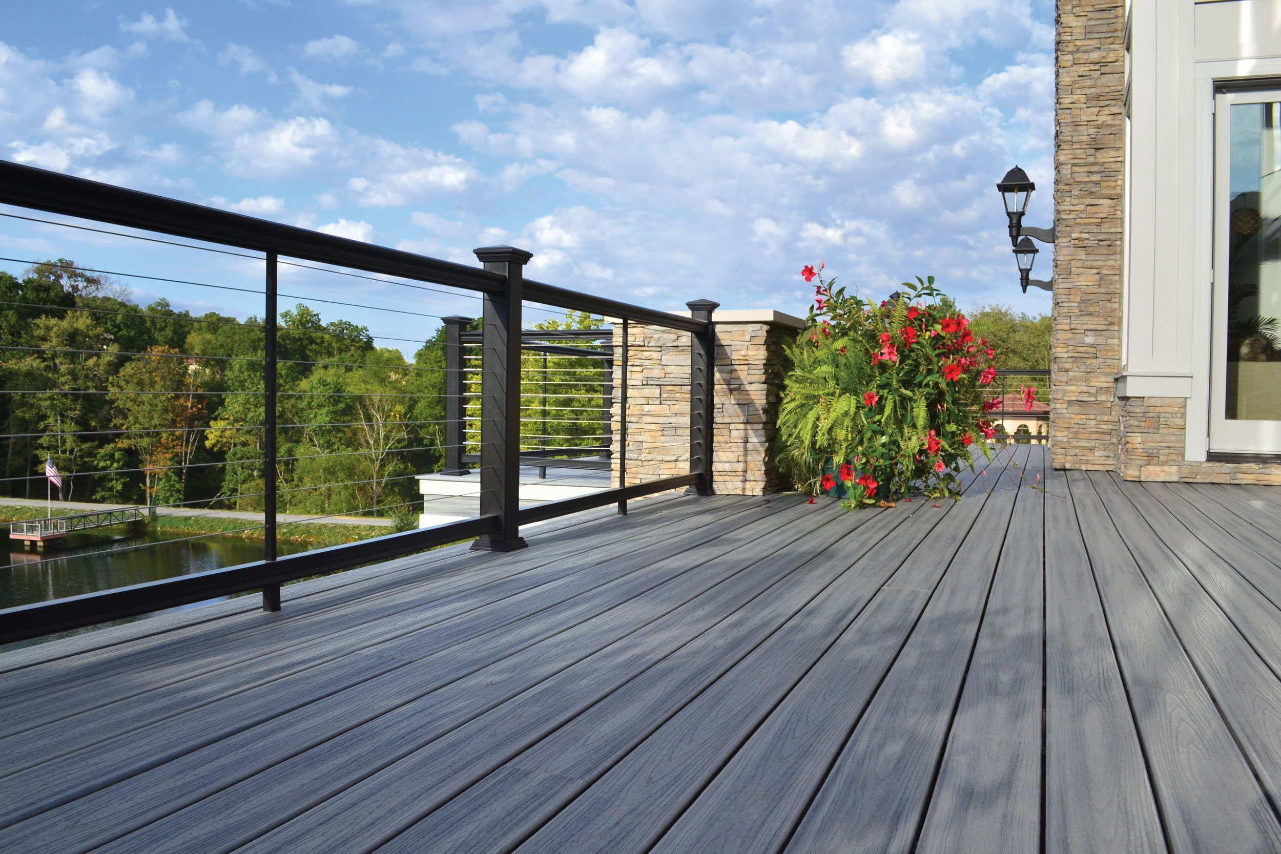 Horizontal Cable Rail System - Fairway Architectural Railing Solutions