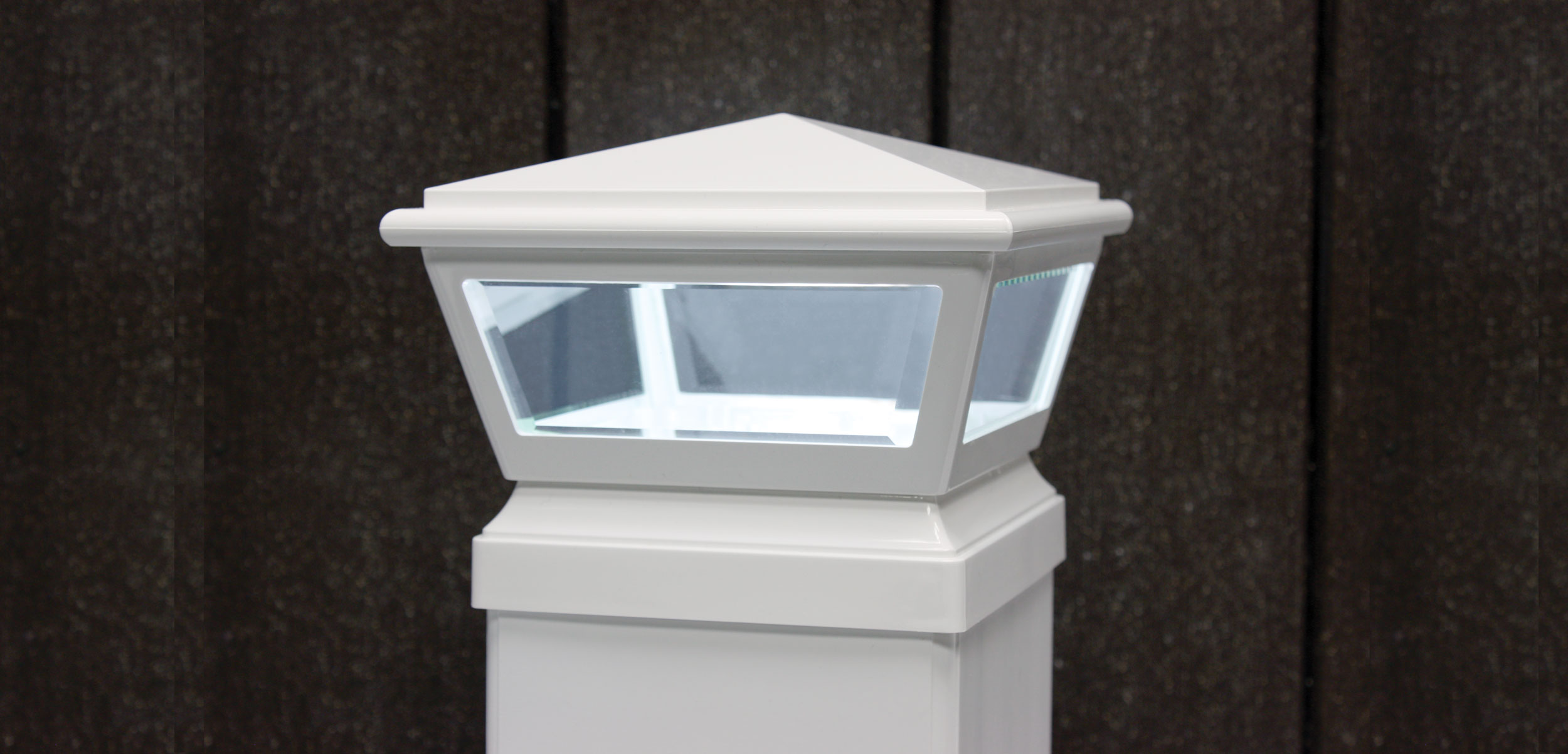 Carriage Lights 12v Led Post Caps Fairway Architectural
